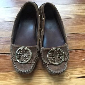 Pre loved Tory burch moccasin